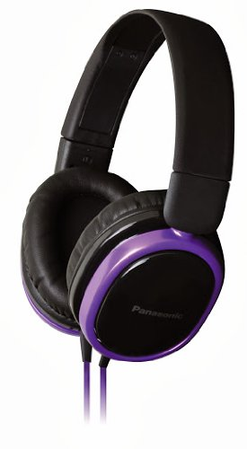 Panasonic RP-HX250 Violet Over-Ear Headphones for iPod/MP3 player/Mobiles