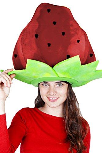 Sombrero de fresa