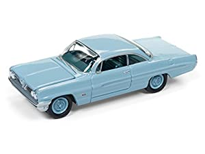 Johnny Lightning JLSP008B 1 1:64 61 Pontiac Catalina - Tradewind, Color Azul