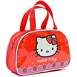 Bolso Bajo Con Asas Hello Kitty Capacidad 15 x 8 x 23 cms