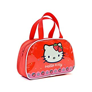 Copywritte Hello Kitty 2018 Bolsa Escolar, 22 cm, Rojo
