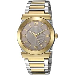 Salvatore Ferragamo Women's 'VEGA GENT' Quartz Stainless Steel Casual Watch, Color:Two Tone (Model: FI0900016)