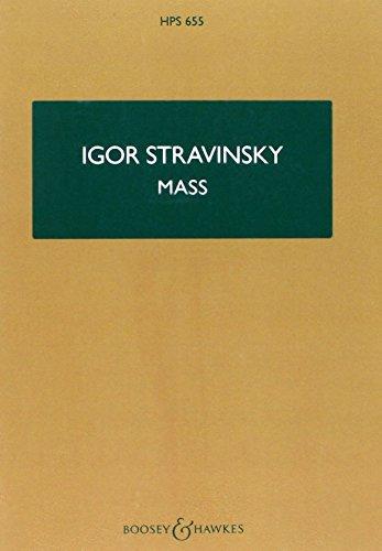 Mass: gemischter Chor, 2 Oboen, Englischhorn, 2 Fagotte, 2 Trompeten in B und C, 2 Tenor-Posaunen, Bass Posaune. Studienpartitur. (Hawkes Pocket Scores)