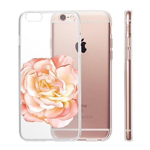 Vanki® iPhone 6 plus/6s plus Custodia, Bella Fiori di Ciliegio Morbido TPU Case Cristallo Ultra Sottile Anti Slip Case Copertura Protezione antiurto per iPhone 6 plus/6s plus 13
