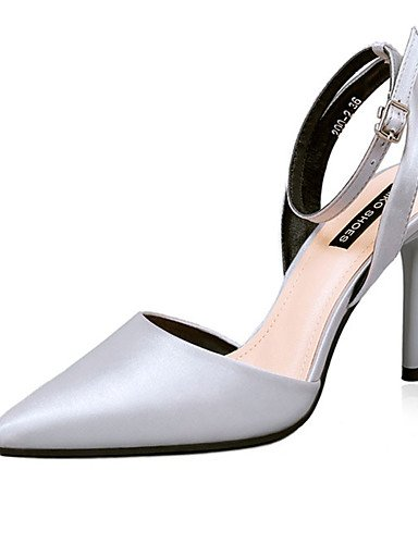 WSS 2016 Chaussures Femme-Décontracté-Noir / Vert / Rose / Violet / Gris / Or / Corail-Gros Talon-Talons-Talons-Laine synthétique green-us5.5 / eu36 / uk3.5 / cn35