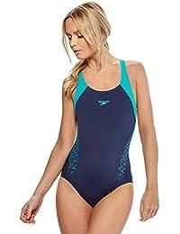Speedo Damen Badeanzug Boom Splice Racerback