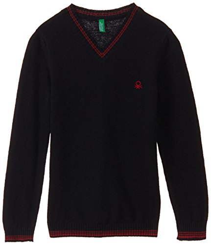 UCB KIDS Boys' Sweater (14A1032Q4192G_Black_XS)