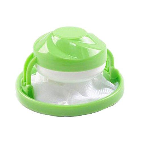 Filtre de cheveux Net Forçant machine à laver flottant peluches en maille Sac pochette de boule de lavage