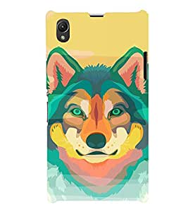 EPICCASE Colorful Fox Mobile Back Case Cover For Sony Xperia Z1 (Designer Case)