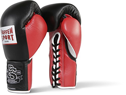 Paffen Sport PRO CLASSIC contest gloves; black/red/white; 10 oz