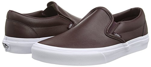 Vans VZMRFJH, Unisex Adults' Low-Top Sneakers, Red (Leather – Burgundy), 4 UK (36.5 EU)