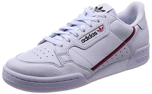 adidas Herren Continental 80 Fitnessschuhe, Blau (Aeroaz/Escarl/Maruni 0), 42 EU
