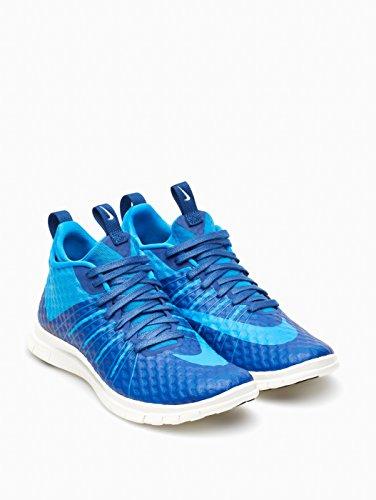 Nike Free Hypervenom 2 Fs, Scarpe da Calcio Uomo, Rosso, 43 EU Blu / Bianco (Insgn Blue / Pht Bl-Ivry-Mid Nvy)