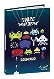 Quo Vadis Space invaders TEXTAGENDA Agenda scolaire Journalier 12x17cm Année 2019-2020