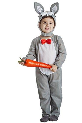 Imagen de disfraz de conejo gris infantil 7 9 años