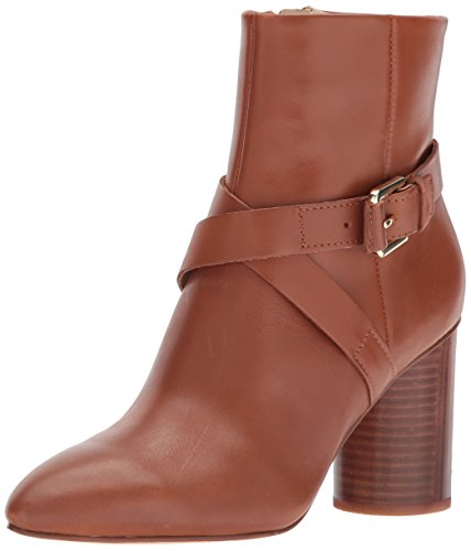 Nine West Damen Kurzschaft Stiefel CAVANAGH, Braun (Dk Hazel), 41.5 (10 US) - Pointy Toe Bootie