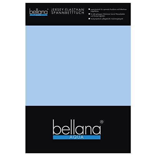 Bellana Aqua Jersey Multifunktions-Spannbettlaken für Wasserbetten in Normal- und Übergrößen, 90-100-120x200-220 cm in Papaya