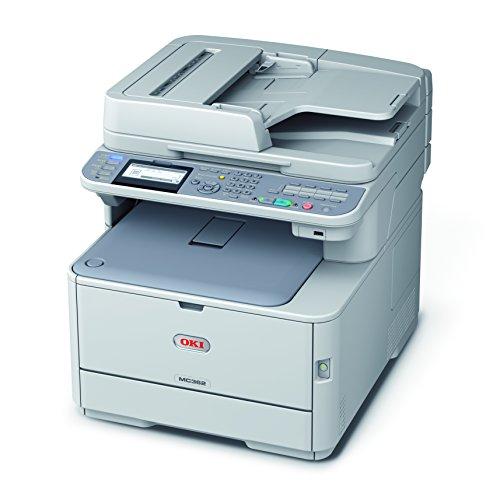 Oki MC362dn Imprimante multifonction Couleur 24 ppm Blanc