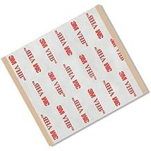 """TapeCase RP253""""x 3"""" -25VHB RP253""""cuadrados cintas adhesivas, 25mil (0,6mm) de grosor (25cuadrados/Pack) (Pack de 25)"""