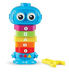 Learning Resources- Robot para Contar y Construir TotBot, Color (LER7734)