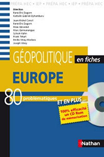 GEOPOLITIQUE FICHES+CD EUROPE