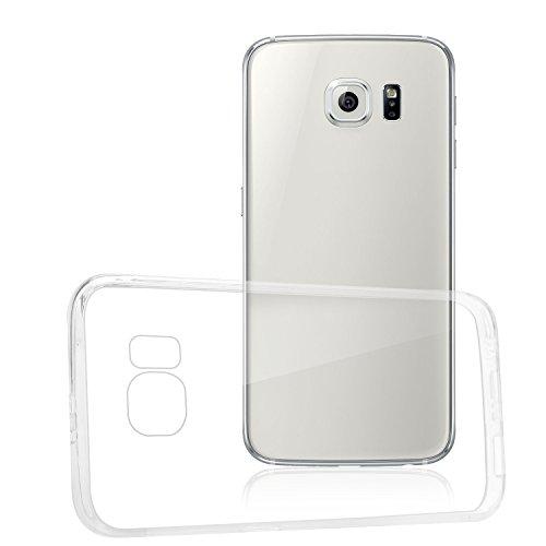 Bingsale Premium Bumper case Samsung Galaxy S6 Schutzhülle hülle hardcase (Samsung Galaxy S6, transparent)