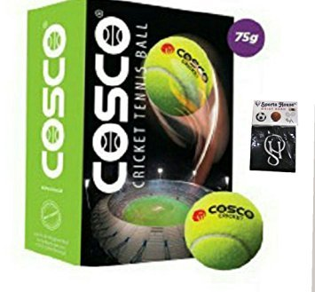 Cosco Light Weight Cricket Ball Pack Of 6  available at amazon for Rs.327