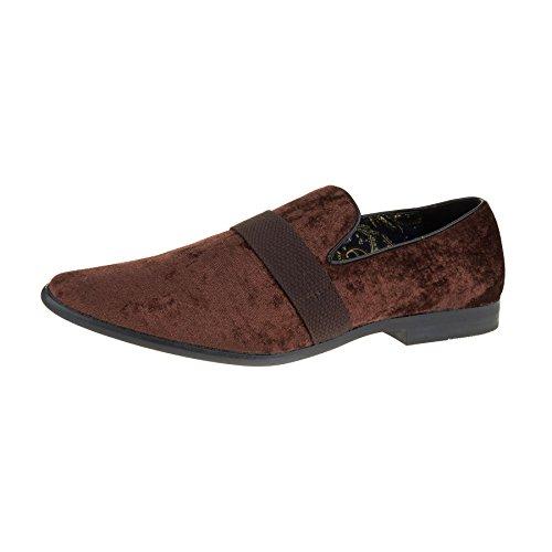 London Footwear - Sandali con Zeppa uomo Brown