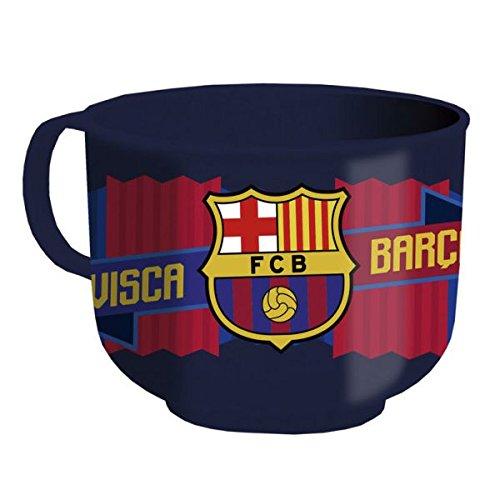 CYP Imports TZ-01-BC Tazón Desayuno plástico 60 Cl, diseño Futbol Club Barcelona, 0, 0, 0 Inches