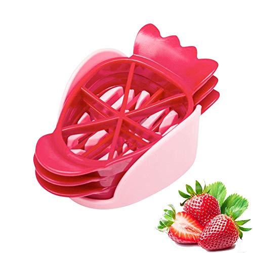 Bloomma Strawberry Slicer Set DIY Platte Obstteller Kuchen Spielzeug Obst Dicing Tool fit Home -