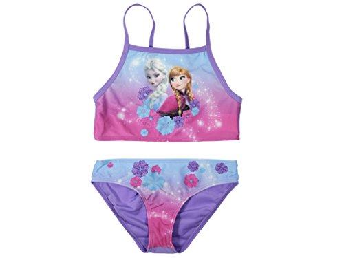 Frozen - Die Eiskönigin Bikini (116/122 - ca. 6-7 Jahre) (Mädchen Frozen Bikini)