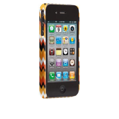 Case-Mate Jessica Swift Designer Schutzhülle für Apple iPhone 4/4S–parent ASIN Halloween Zig Zag