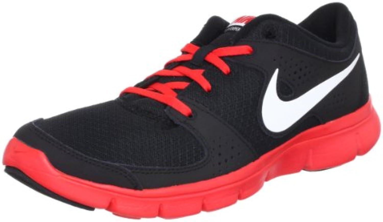 Nike flexe Xperience, Black/White/Pimento  Zapatos de moda en línea Obtenga el mejor descuento de venta caliente-Descuento más grande