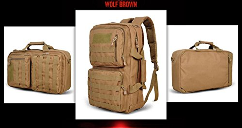 Team von Schüler Rucksack Mode Rucksack Handtaschen Reise im Freien Wolfbraun