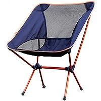 CRUTCH aire libre silla plegable de ocio taburete plegable portátil de aluminio ligero silla de playa rápida silla de la pesca