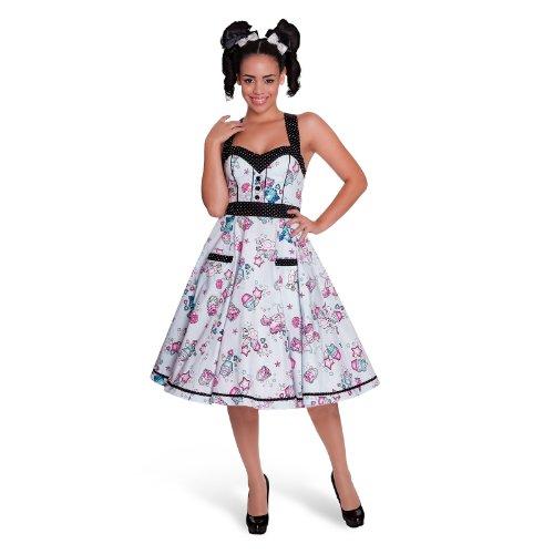 Vestitino Rockabilly - Super sweet - Abito anni 50 di Hell Bunny - Multicolore - XL