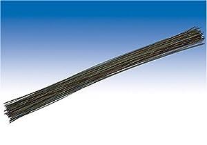 Gütermann / KnorrPrandell 6479308 - Tallo de la Flor de 30 cm de Alambre Verde de 0,8 mm, 40 Piezas / Bolsa Importado de Alemania