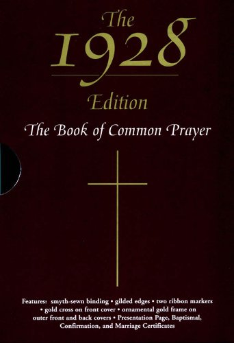 The 1928 Book of Common Prayer (English Edition)