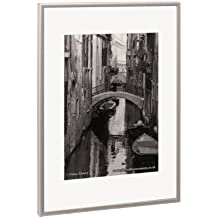 Alumaxx PAAF3040B - Marco de fotos de aluminio (30 x 40 cm), color  plateado