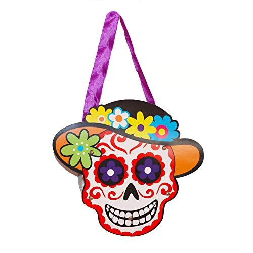 Beutel Halloween Papier Kostüm - Bongles Candy Bag Trick Or Treat-Taschen Papier-Geschenk-Beutel Mit Handgriff Für Kinder Halloween-Kostüm-Party