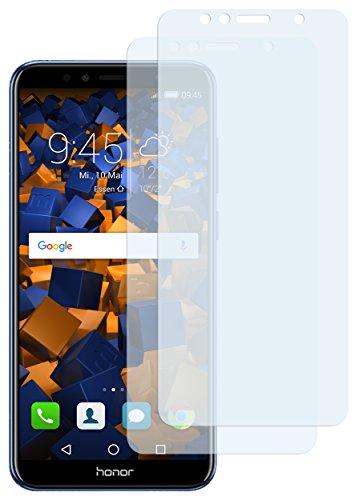 mumbi Schutzfolie kompatibel mit Huawei Honor 7A Folie klar, Bildschirmschutzfolie (2x)