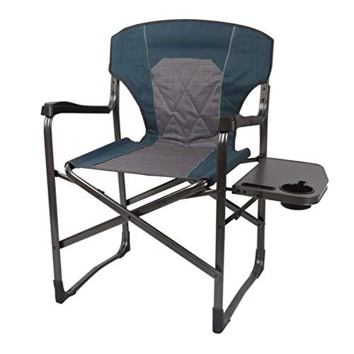 ck Camping Chair Unterstützung £ 300 Mit Tragetasche Klappstuhl Portable Quad Mesh Outdoor Heavy Duty, Gepolsterte Armlehne, Getränkehalter Strand/Wandern/Angeln/Konzert Stüh ()