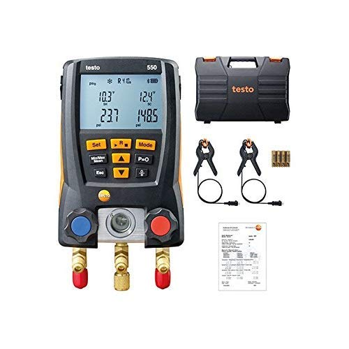 Testo 550 0563 1550, Gruppo manometrico digitale Bluetooth