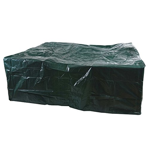 Mendler Housse de Protection pour Ensembles de Jardin, 260x260x90cm~ polyéthylène