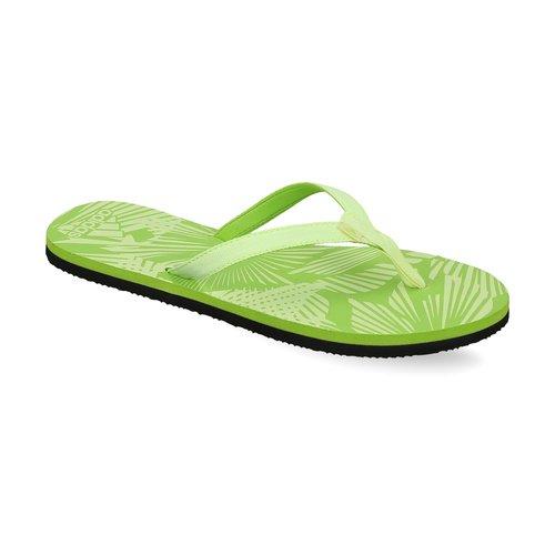 Adidas Women Green Aril Attack Printed Flip Flops(ba4896)-7
