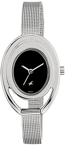 Fastrack Fits and Forms Analog Black Dial Women's Watch - 6090SM01 image