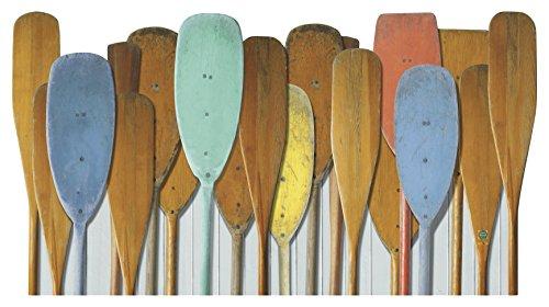 Plage 143533 Bed, Headboard Sticker - Aufkleber für Bett-Kopfteil Oxford Acryl Wood 160 x 0,02 x 59 cm