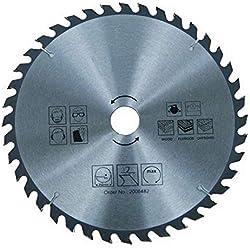 Lame de scie circulaire pour bois - Ø 300 mm/36 dents - Scie circulaire manuelle - HM - Métal dur - Pour scier dans le bois - Pour scie circulaire à main