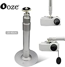 ooze Projector Camcorder Holder Retractable Ceiling Mount Stand