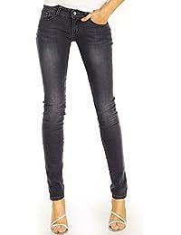 Bestyledberlin Damen Skinny Jeans, Basic Denim Röhrenjeans eng j83kw